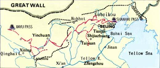 Beijing Map Map Of Beijing Beijing City Map