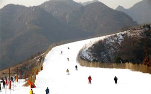 Beijing Nanshan Ski Resort Tour
