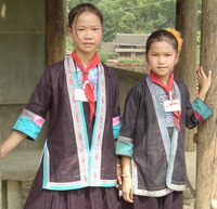 Traditional costumes of Dong Ethnic