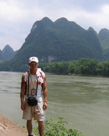 Leo He - Tour leader in Guilin