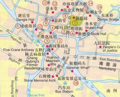 Suzhou Map Map Of Suzhou Suzhou City Map - Suzhou map