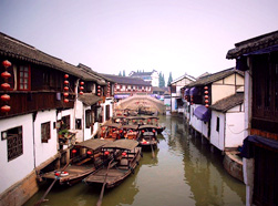 One Day Zhujiajiao Ancient Town & The Bund Tour
