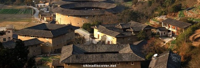 Fujian Hakka earthen buildings tour